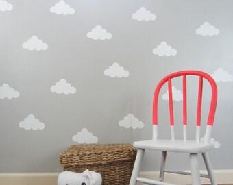 Vinyl Cloud Wall Decal