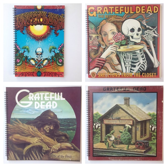 Grateful Dead Amp Yes Recycled Record Album Books Custom Order