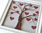 Glitter Hearts Add-on Pack for Family Tree Frame Kits