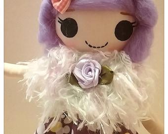 Japanese Vintage Pose Doll, Big Eyes Dolly, Lalaloopsy girl, She is Peggy