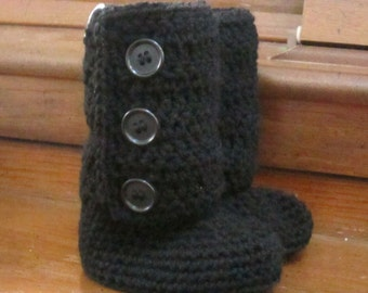 COUPON CODE sale15 Crochet Baby Boots, Booties, Photo Props Boy, Girl Baby Shower- 0-3m, 3-6m, 6-12m-Many colors