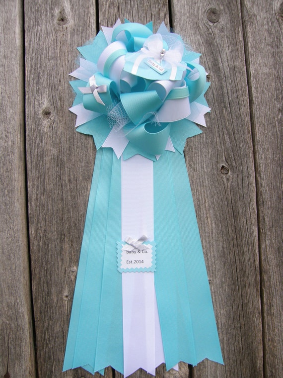 baby co baby shower blue baby shower mum by bonbow on etsy