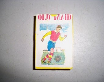 Vintage 1950's Old Maid Card Game