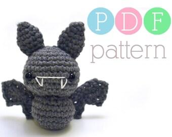 Amigurumi Bat - Crochet PDF Pattern