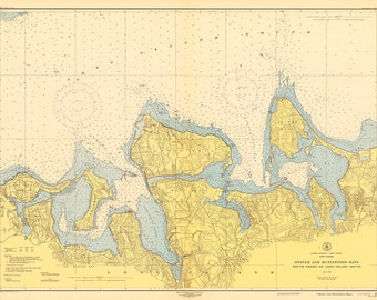 Oyster & Huntington Bays 1947
