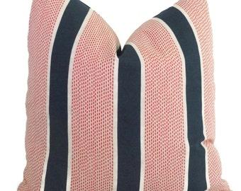 Tilton Fenwick Eze Sapphire Decorative Pillow Cover Square, Eurosham or Lumbar Pillow Cover, Toss Pillow, Throw Pillow