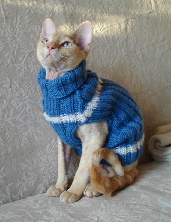 tricoter un manteau pour chat. Black Bedroom Furniture Sets. Home Design Ideas