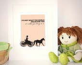 Nursery Decor - Anne of Green Gables quote - Girl decor - Nursery Art