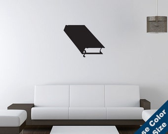 Book Wall Decal - Vinyl Sticker - Free Shipping