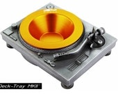 Deck-Tray MKII - Silver - Technics Inspired DJ Turntable Sculpture Tray by Sku Style