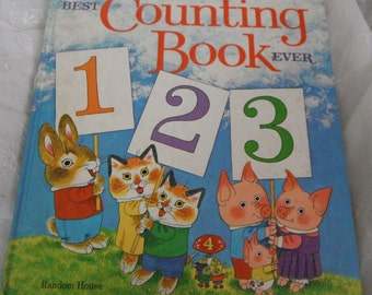Richard Scarry's Best Counting Book Ever Vintage book 1975