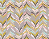 SALE - Sardinia Sparre Taupe - Cotton Print Fabric from Blend Fabrics