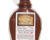 9 oz Aztec Chocolate Artisan Spice Blend - Chili Chocolate with Raw Cacao - Dairy Free Gluten Free Vegan - Food Market - Herbs & Spices