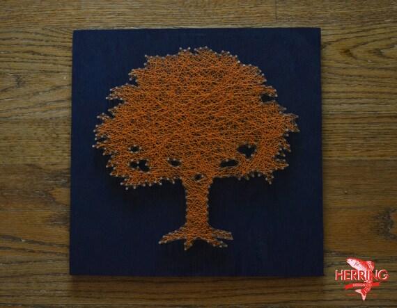 Toomer S Corner Tree String Art Tree Nail Art By Herringdesignco
