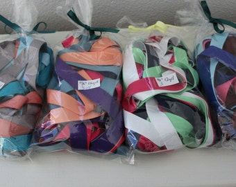 "5/8"" Grosgrain Ribbon -  Bag of 12 yards of Assorted Colors"