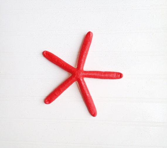 Red Starfish Wall Decor : Red starifsh wall decor holiday christmas nautical