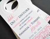 Door hangers For Weddings
