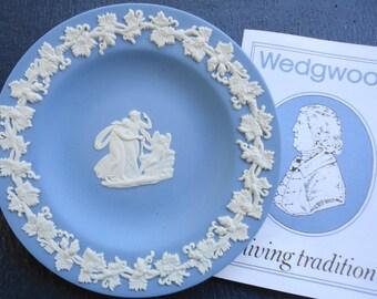 Vintage Blue Jasperware by Wedgewood Small Plate
