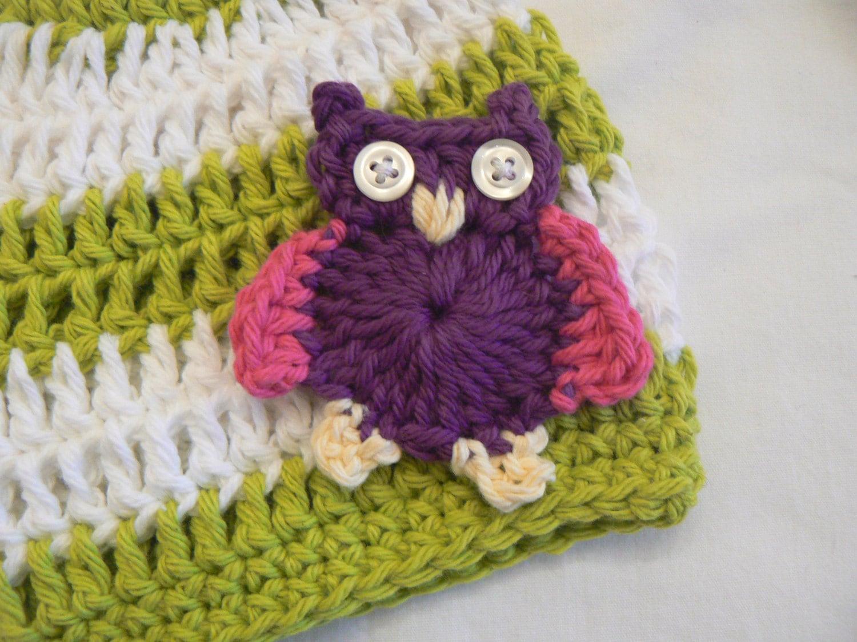 Crochet Pattern Notation : Crochet Pattern Owl Applique Crochet Pattern Crochet ...