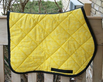 Yellow Saddle Pad 43 00 Images Frompo