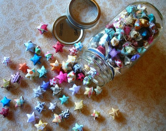 Children's Stars - Large Mason Jar of Affirmation Stars for Kids