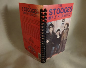 Three Stooges Simply Hilarious VHS notebook