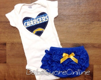 Chargers Girls Outfit