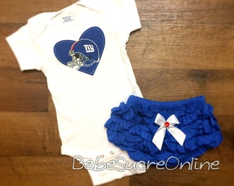 New York Giants Girls Outfit