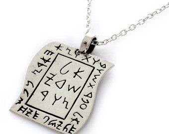 INCARNATION, amulet,kabbalah,art,silver,judaica,gifts,pendant,ethnic