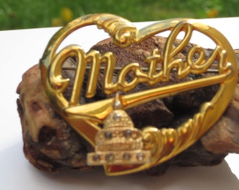 Lovely Vintage U.S. Capital Mother Pin