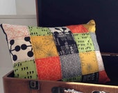 Quilted Square Pillow Cover Featuring Comma 12 x 16