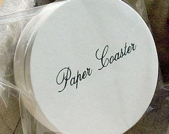 Paper Coaster Round Pattern