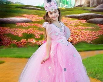 Glinda the Good Witch Crown - Wizard of Oz - Photo Prop -  Couture Crown - Princess Dress Up - Birthday Hat