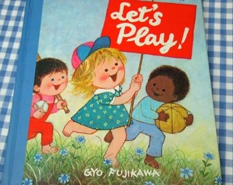 let's play, vintage 1975 children's book