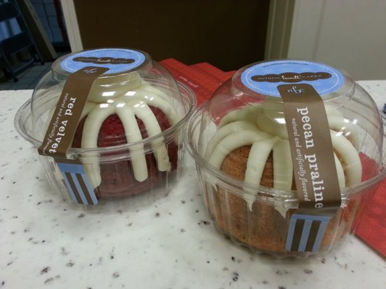 60 Clear Mini Bundt Cake Boxes Also For Jumbo By