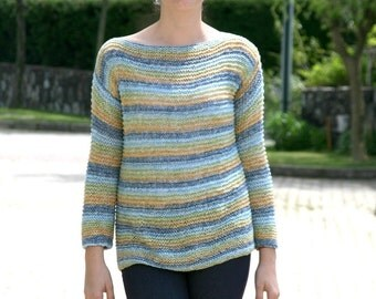 Knit Spring Sweater - Knit Top in Pastel Colors - Spring Summer Fall Fashion - Women Teens Accessories - Womens Cape - Poncho