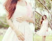 Sweetheart Neckline Dress Simple Retro