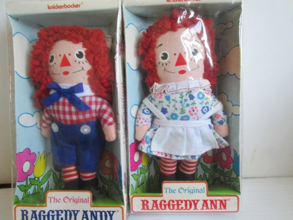 Raggedy Ann and Andy: History and Legend by Patricia Hall