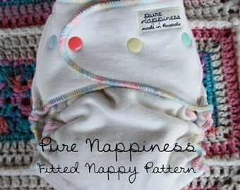 Pure Nappiness OSFM Fitted Nappy Pattern
