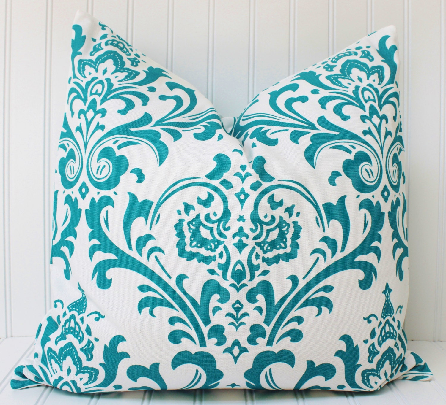 decorative turquoise pillow throw pillow couch pillow
