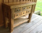 Reclaimed Chestnut Sideboard Table