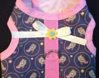Little birdie dog or puppy harness
