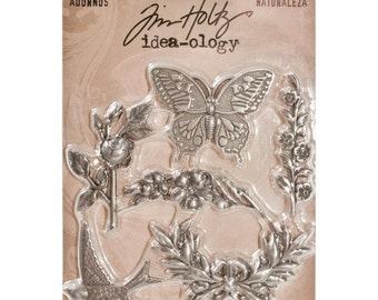 Tim Holtz - Ideaology - Adornments - NATURE