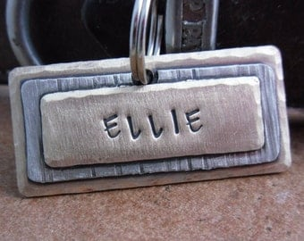 Mixed Metals Pet ID Tag - Dog Tag - Pet Tag