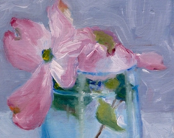 Popular Items For Dogwood Paintings On Etsy