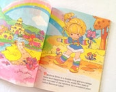 Vintage 1984 Rainbow Brite Little Golden Book Children's Storybook Collectible