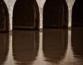 Bridge Abstract - Thailand – framed photograph