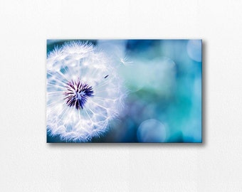 dandelion canvas art nature wall art dandelion photography canvas print 20x30 fine art photography canvas wrap dandelion nursery decor wall