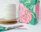 Shabby Chic Pink Roses Gift Wrap - great quality