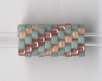 Woven Glass Bead Tube ... ... ... ... ... ... 6mm/o-2mm/i ... ... ... ... ... 10x08 * 423